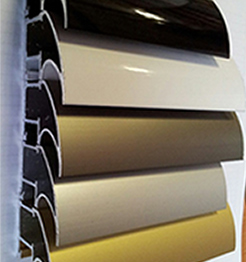 Alimīnija profili - 5 krāsas
